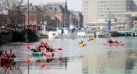 De Groningse Kano Speurtocht in Groningen
